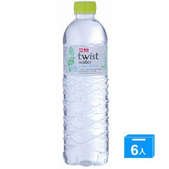泰山環保包裝水Twistwater600ml*6入