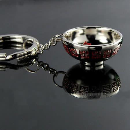 PUSH!Innovation 嚴選 金缽滿滿整碗端去 鑰匙圈 鑰匙扣