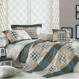 《格韻》雙人加大四件式舖棉兩用被床包組