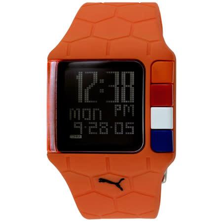 PUMA 世足賽紀念運動錶(橘)