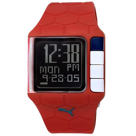 PUMA 世足賽紀念運動錶(紅)