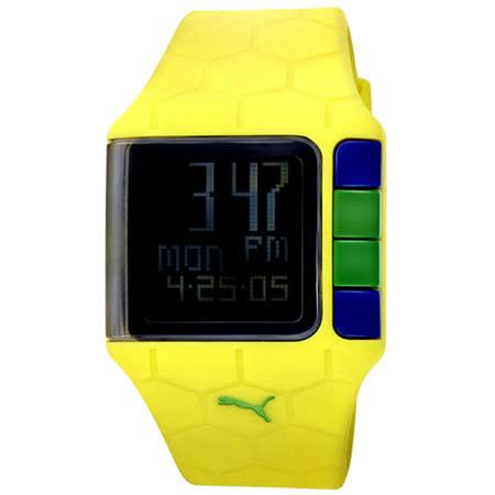 PUMA 世足賽紀念運動錶(黃)
