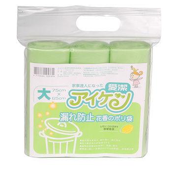 愛潔防漏香氛清潔垃圾袋-大75*65cm