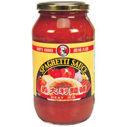 美味大師義大利麵醬-義式肉醬720g