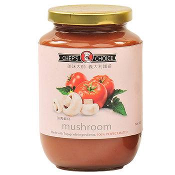 美味大師義大利麵醬-田園蘑菇470G/瓶