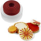 《CUISIPRO》圓圈圈餅乾壓模器(5入)