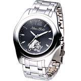 MARC ECKO 名流精英時尚鋼帶腕錶