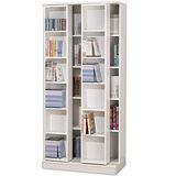 拉斐爾雙排大容量活動書櫃