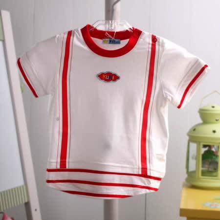 KUKI 酷奇~海洋系列男童裝~假兩件設計外出上衣~k03089~台灣製造