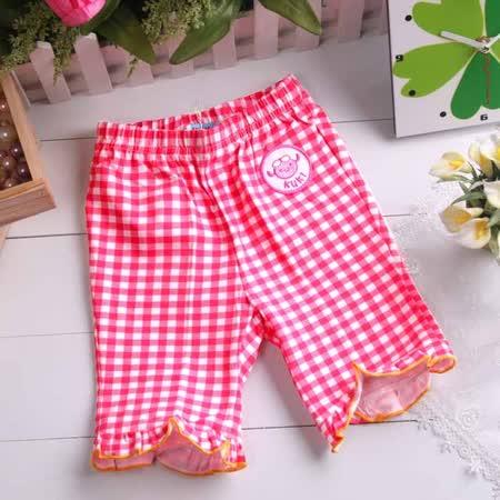 KUKI  酷奇~女童亮麗有型六分褲~設計師童裝款~女童裝~k03034~台灣製造