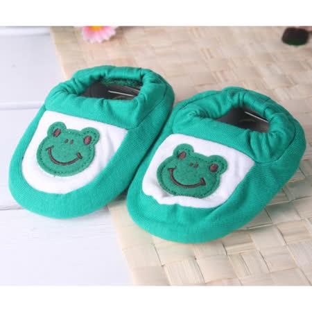 (購物車)KUKI 酷奇可愛青蛙公仔學步鞋/寶寶鞋/寶寶襪☆男童鞋☆s9520