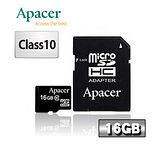 9Apacer宇瞻 16GB microSDHC Class10 記憶卡
