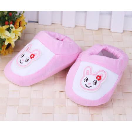 (購物車)KUKI 酷奇可愛小兔公仔學步鞋/寶寶鞋/寶寶襪☆女童鞋☆s9520