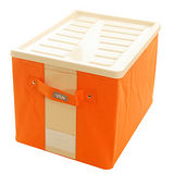 《儲藏室》強固型掀蓋收納箱(中)2入