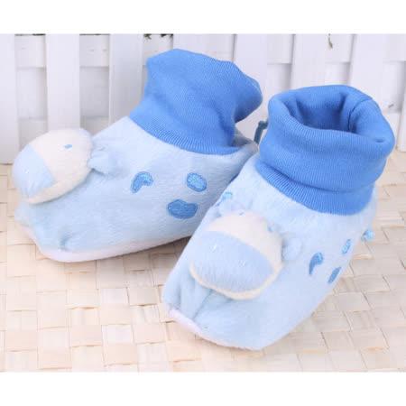 (購物車)KUKI 酷奇超可愛立體小牛公仔學步鞋/寶寶鞋/寶寶襪☆男童鞋☆s9513