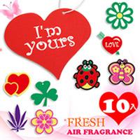 【JoyLife】超值10入吊掛式長效型香水芳香片
