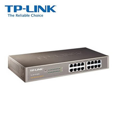 TP-LINK TL-SF1016DS 16埠10/100Mbps乙太網路交換器