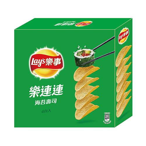 樂事洋芋片重量包~海苔壽司260g