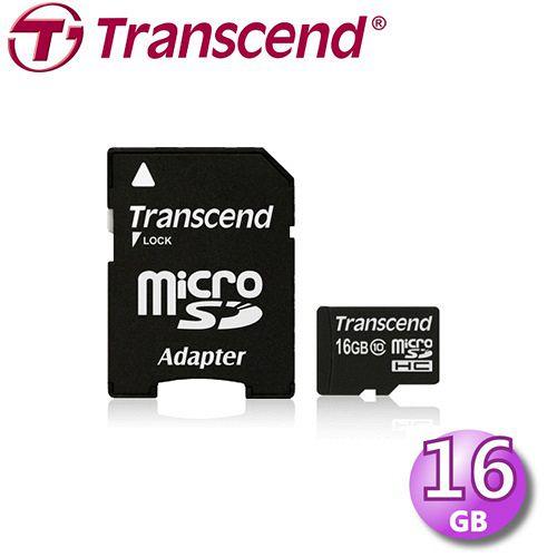 創見Transcend MicroSDHC Class10 16GB 記憶卡