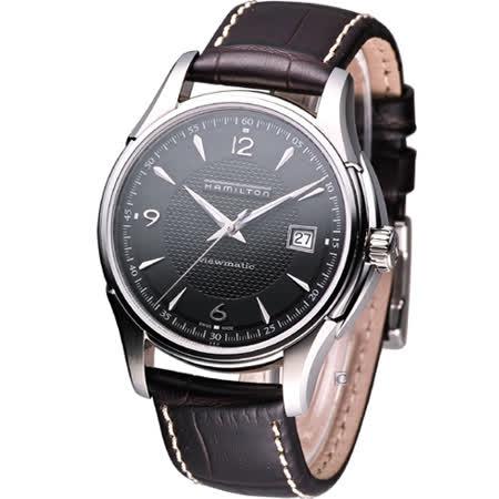 HAMILTON Jazzmaster爵士魅力 經典機械錶 H32515535 黑色