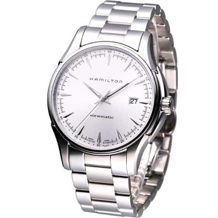 HAMILTON Jazzmaster  Viewmatic 高雅爵士 機械腕錶H32665151銀白