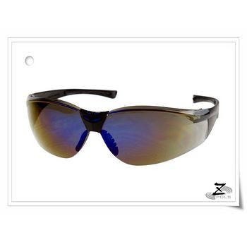 【視鼎光學科技專業級設計】超質感頂級亮面帥氣七彩藍色抗UV400運動太陽眼鏡,超優惠!含運費