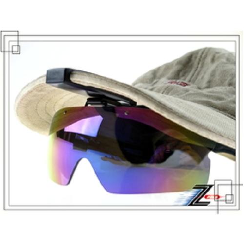 【視鼎Z-POLS獨家新款夾帽式可掀蓋PC七彩款】三段節點可調整,適用各種帽體頂級防爆抗UV4太陽眼鏡,限定販售!!