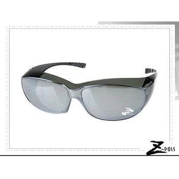 可包覆近視眼鏡於眼鏡內【視鼎Z-POLS專業款】近視專用!舒適PC防爆抗UV400紫外線太陽眼鏡,實用超方便新上市