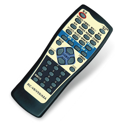 SAMPO聲寶 轟天雷三代電視專用遙控器 RC-V8