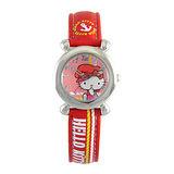 Hello Kitty進口精品時尚手錶-快樂出航(紅)