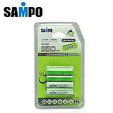 〔SAMPO〕4號低自放充電電池950mAh*4入