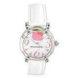 Hello Kitty進口精品時尚手錶-優雅閑靜大字手錶(粉紅)