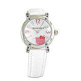 Hello Kitty進口精品時尚手錶-優雅閑靜大字手錶(白)