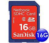 SANDISK Class2 SDHC 高倍速 記憶卡 16G