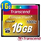 創見 Transcend 頂級旗艦款 1000x CF 16G 極速記憶卡