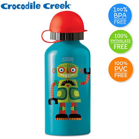 【美國Crocodile Creek】環保兒童不鏽鋼水瓶-天才機器人