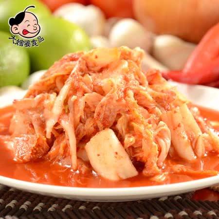 《大嬸婆》輕食開胃菜-韓式泡菜(200g)-任選