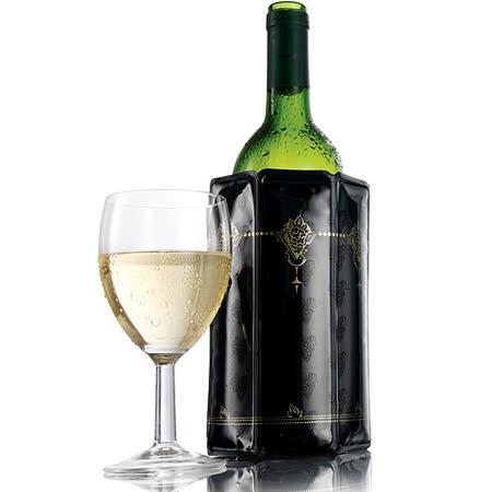 【好物推薦】gohappy 線上快樂購《VACU VIN》Wine 軟性保冷冰桶(黑)有效嗎台南 大 遠 百 地址