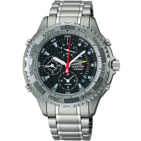 SEIKO 專業運動 鈦金屬腕錶(7K32-0A10D)