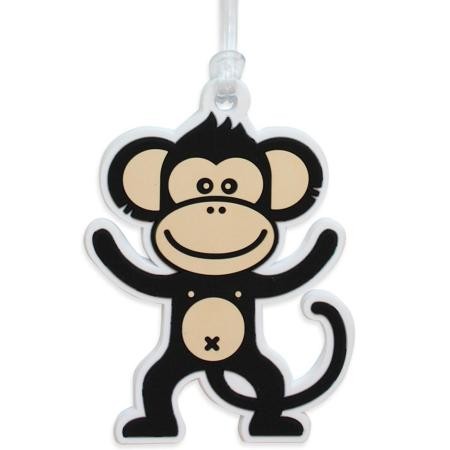 《DQ》Tag Q 行李箱掛牌(小猴)