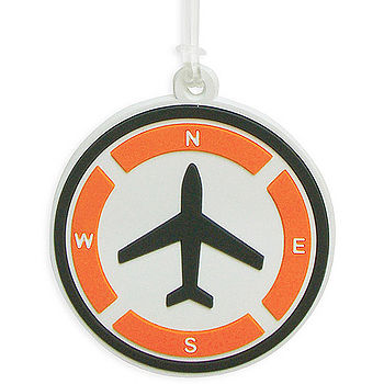 《DQ》Tag Q 行李箱掛牌(飛機)