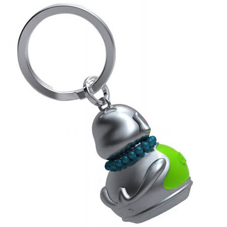 【MTM】佛陀祈福鑰匙圈 (綠色)