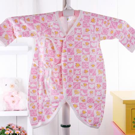 (購物車)KUKI 酷奇台灣製秋冬純棉舒適雙面布肚衣兔裝/連身衣☆女童裝☆k11009
