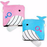 USB 鯨魚造型 保暖滑鼠墊