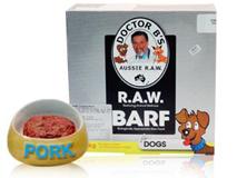 Docky嚴選* 頂級寵物美食 澳洲巴夫犬貓生食肉餅 豬肉口味