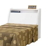 《Living》極簡臥居純白3.5尺單人床頭箱