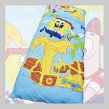 海綿寶寶.寶藏.標準型兒童睡袋.全程臺灣製造