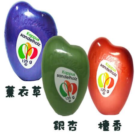 德國原裝進口Kappus香水皂【薰衣草/銀杏/檀香】125g (三塊一組)