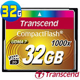 創見 Transcend 頂級旗艦款 1000x CF 32G 極速記憶卡