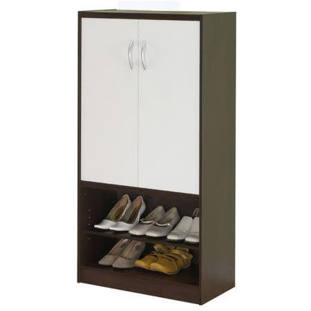 赫斯提亞雙色雙門高鞋櫃